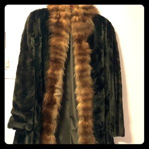Jackets & Blazers - Black mink with Russian sable fur coat/reversible